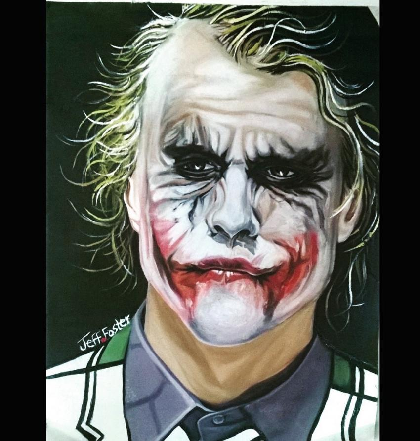 Heath Ledger by jeffcoolfoster92